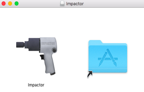 Download and Run the Impactor