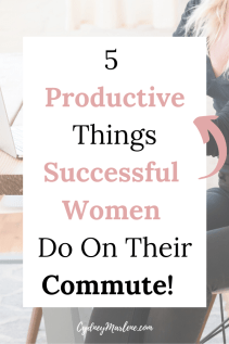 5 productive things to do on your commute