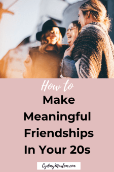 how to make meaningful friendships