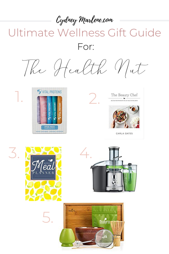 gift guide for the health nut