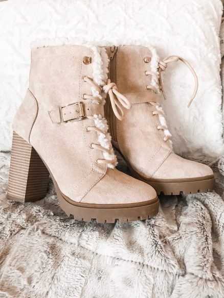 winter boots from express