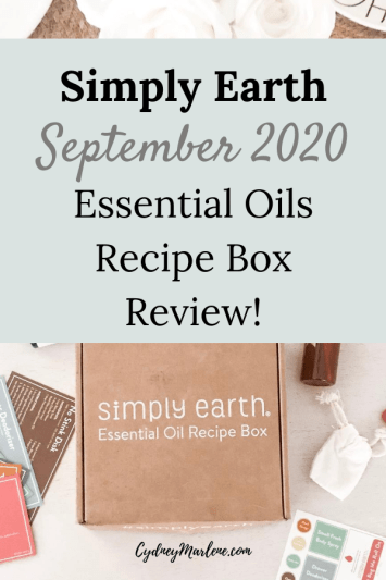 Simply Earth September 2020 Box
