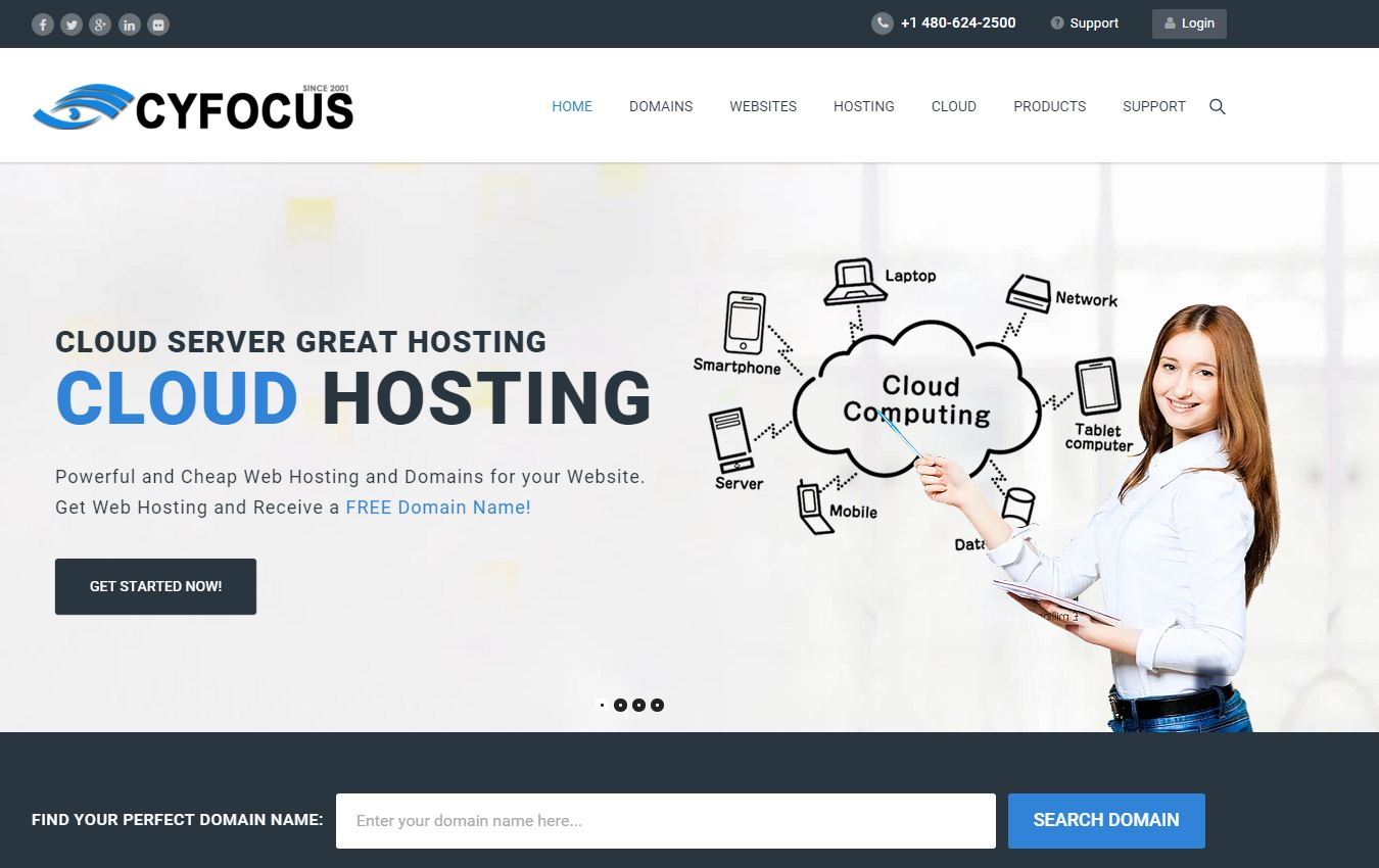 CyFocus.com New Website Launch Announcement