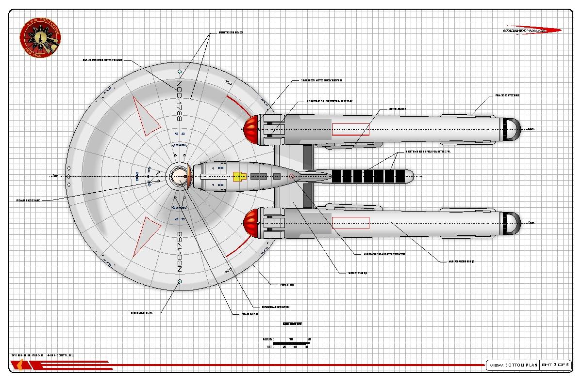 Star Trek Ship Model Scout | Wiring Diagram Database