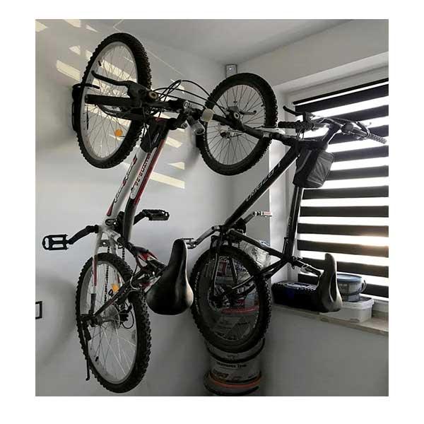 Væghængt ophængskrog til cykler