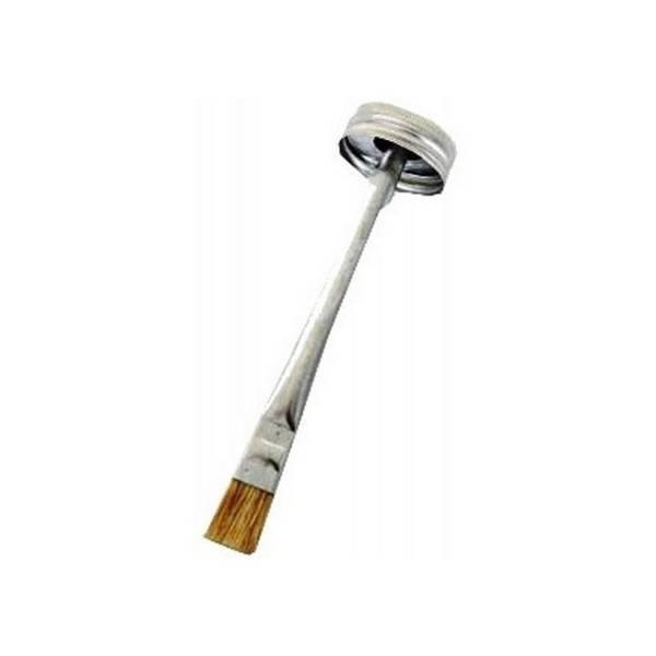 Pensel med skruelåg til Tip Top Solution lappelim 250 ml.