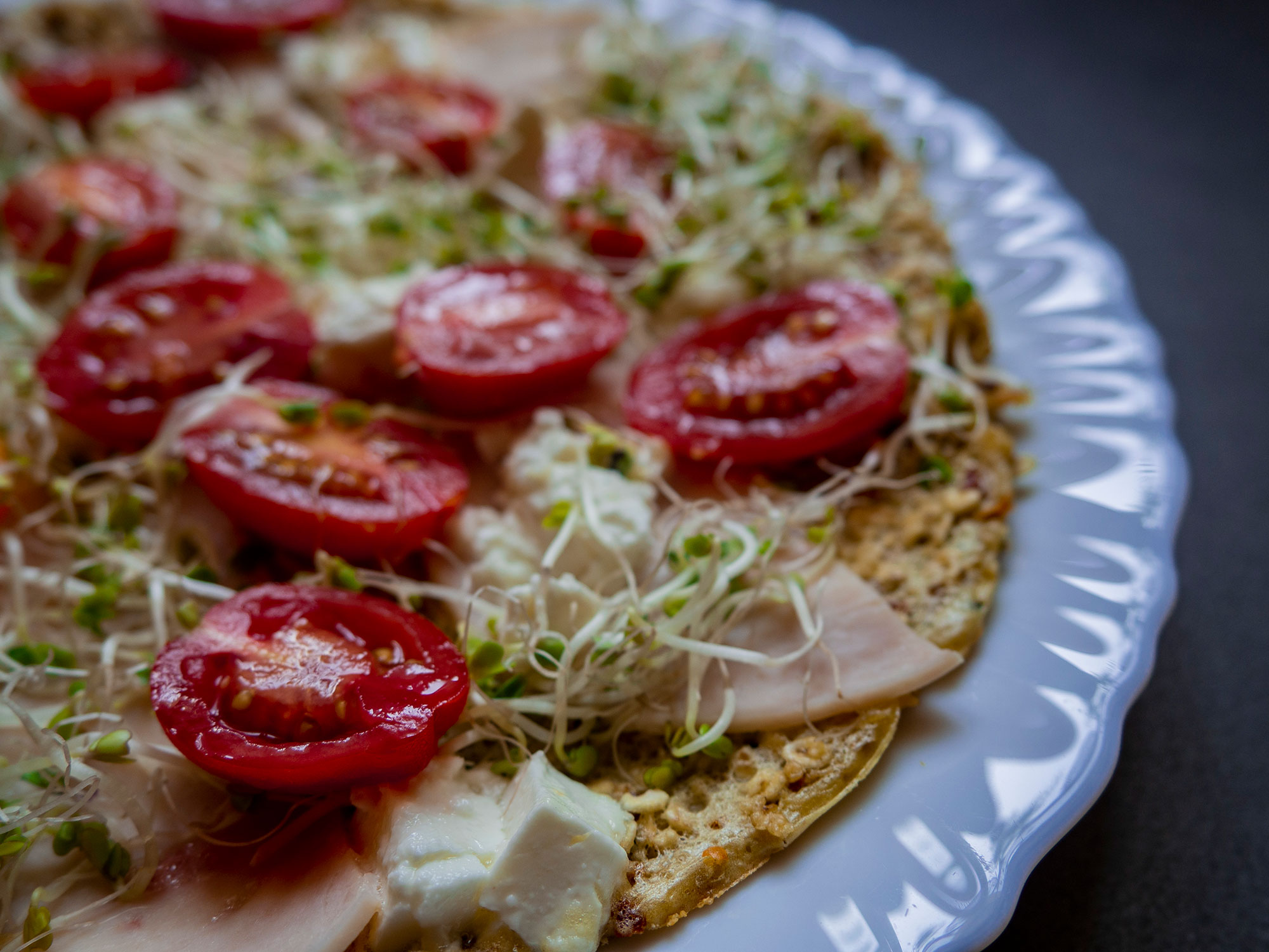 Spring Oat Pizza from Pan