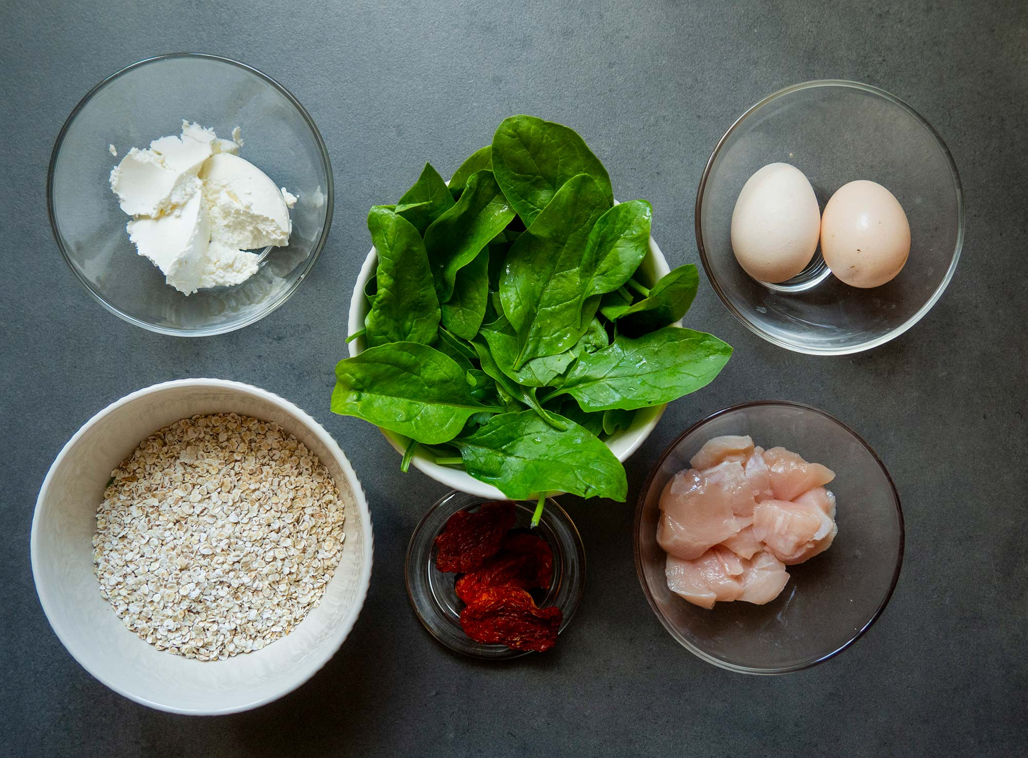 Ingredients for your lunch