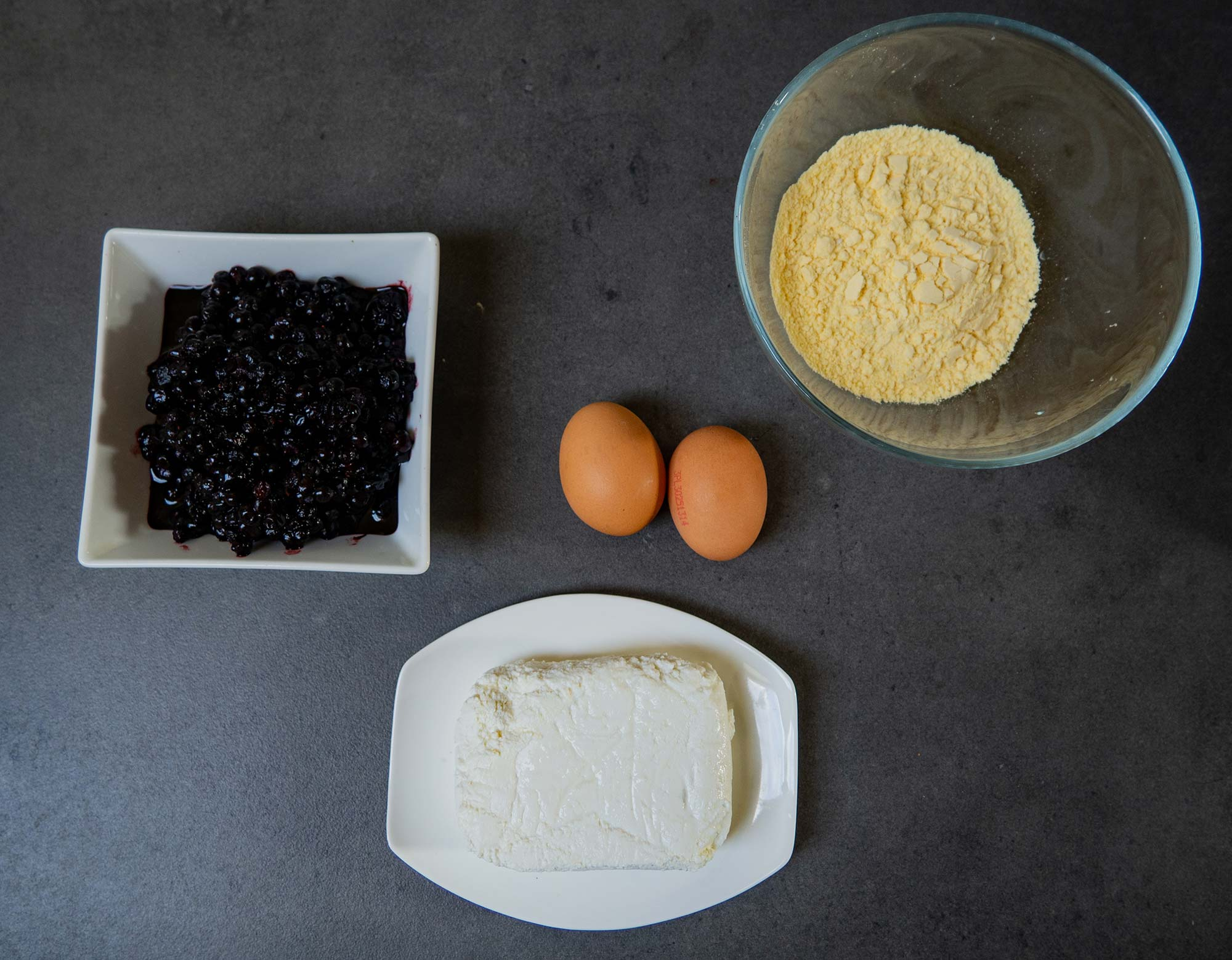 Berry Buns ingredients