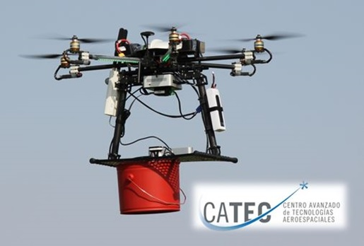 Support-Treillis Électroaimant pour drone – Mohamed Bin Zayed International Robotics Challenge