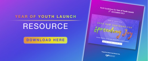 Year of Youth 2018 Launch Resource Banner