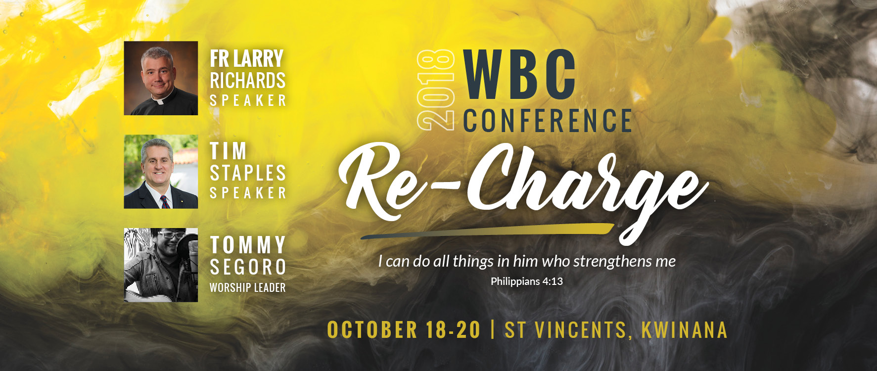 Why be Catholic 2018 Conference: Re-Charge
