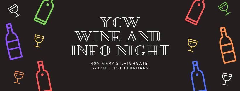 YCW Cheese and Wine Information Night (18+ Event)