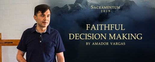 Faithful decision making by Amador Vargas
