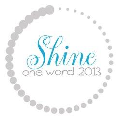 OneWord2013_Shine