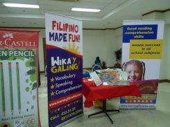 The Learning Library booth