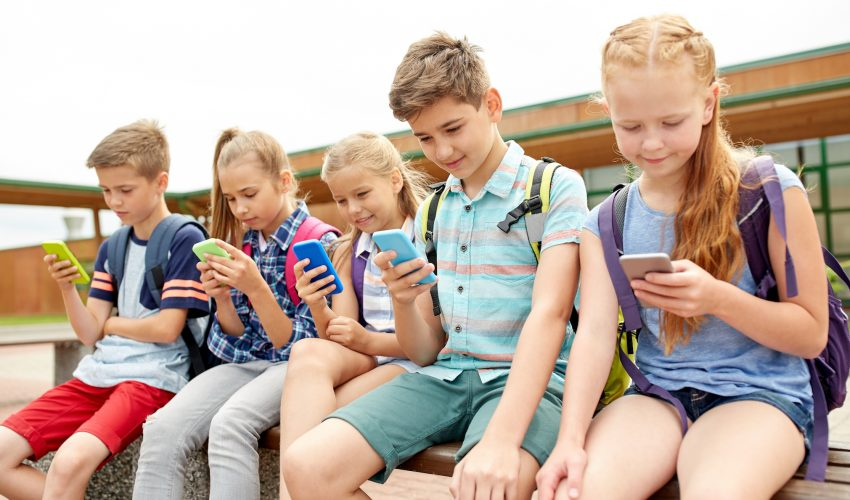 use of smartphones for kids