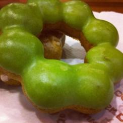Mister Donut - Green Tea Mochi Donut