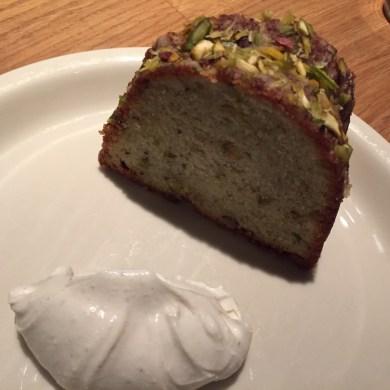 Momofuku Nishi - Pistachio Pound Cake