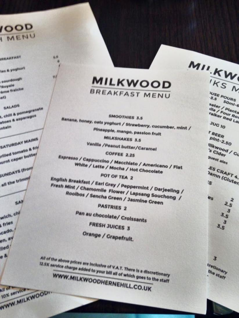 milkwood herne hill brunch in brixton cyntra charlesworth