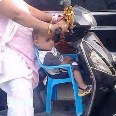Ride on Papa