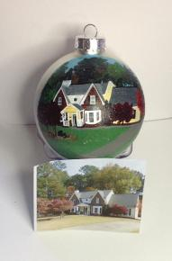 Hand Painted Christmas Ornament 5