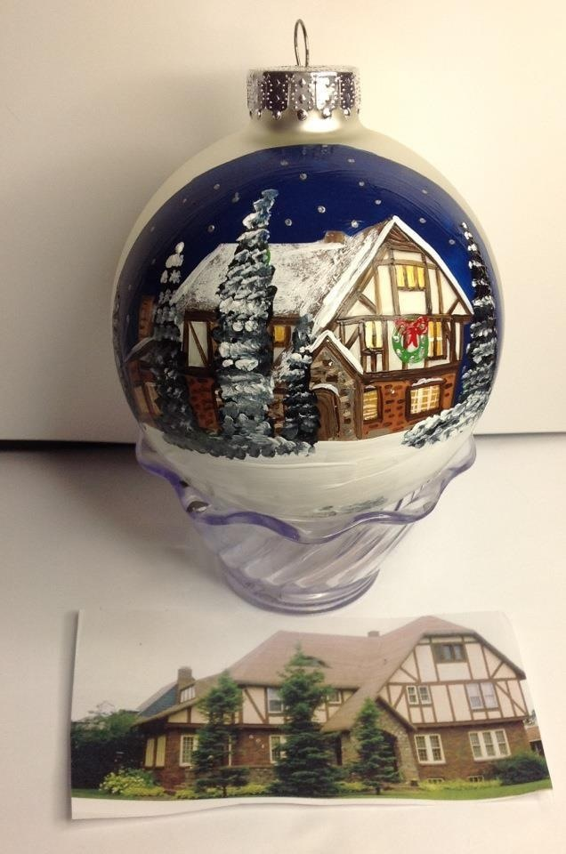 House Ornaments Custom Creations By Cyndie Wade