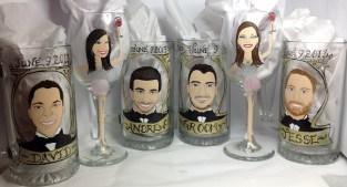 Custom Wedding Glasses
