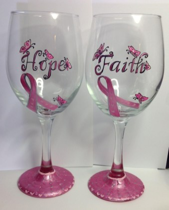 Breast Cancer Awareness Glasses