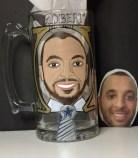 Custom Groomsman Beer Mug