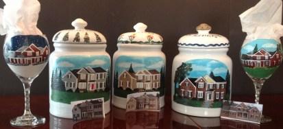 Custom House Cookie Jar