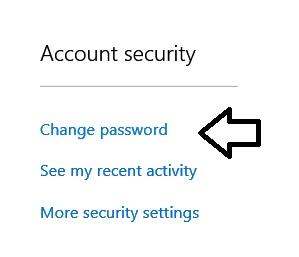 outlook-security-change-password