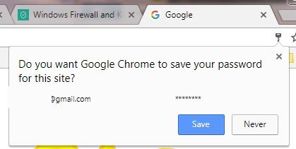 google-password-remember