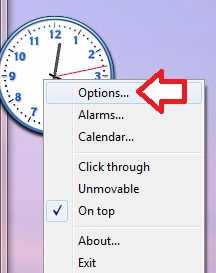 clock-x-options-meni