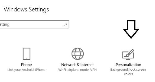 settings-personalization
