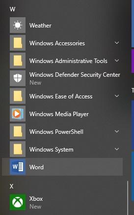 Hidden favorites in Windows 10 – Cyn Mackley
