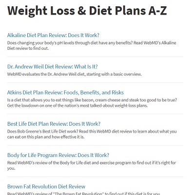 most successful weight loss plan