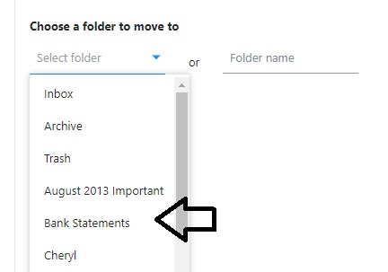 select-folder-from-list