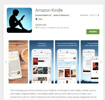 kindle-on-android