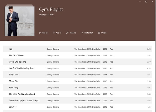playlist-listed
