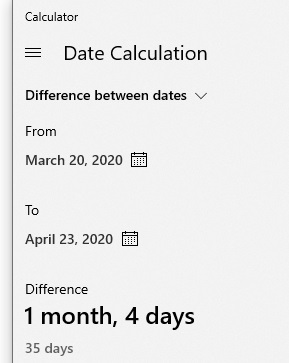 dates-calculated
