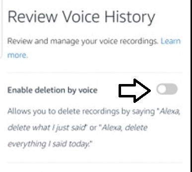 enable-deletion-by voice