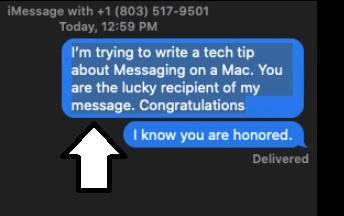 message-on-mac