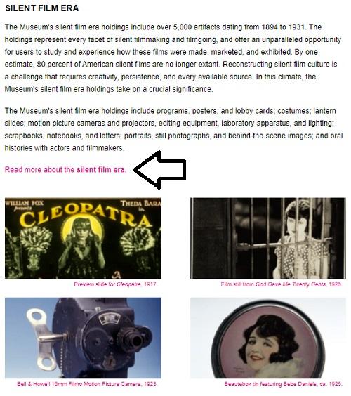 read-more-silent-film