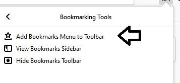 Toolbar-bookmark