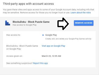 app-access-listed
