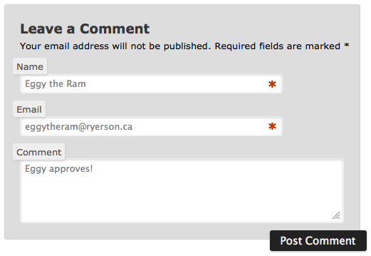 Modifying WordPress Comments Form Fields: Beyond the CSS