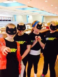 Ally Cat Strikers sponsored by Subway, Cobequid in Sackville, NS