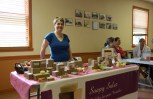 Bedford-based entrepreneur Bonnie Botham of Soapy Salez makes her 100% natural soaps herself using spices for colour and a base of olive oil, coconut oil and castor oil.