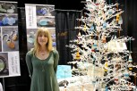 """The balls are filled with tiny pieces of driftwood, shells and sea glass we've collected throughout the summer,"" says Laidlaw. She says Cape breton is her favorite place to collect sea glass and says there's a beach near Inverness that's a goldmine for collecting sea glass for her jewelry. Christmas balls start from $14."